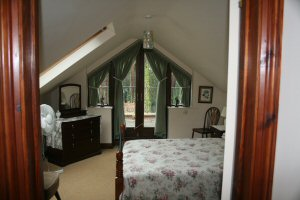 The Balcony Suite at The Retreat bandb at Wareham in Dorset