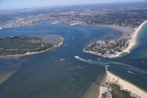 The Retreat is in Dorset near Poole Harbour, Bournemouth and Swanage