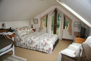 The Annexe Double room at The Retreat bandb at Wareham in Dorset