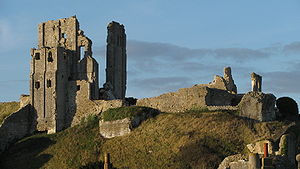 Visit Corfe Castle from the Retreat Bed and Breakfast